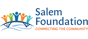 logo with people on a bridge | Salem Foundation | Connecting the Community